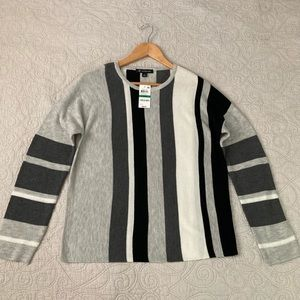 INC striped sweater NWT